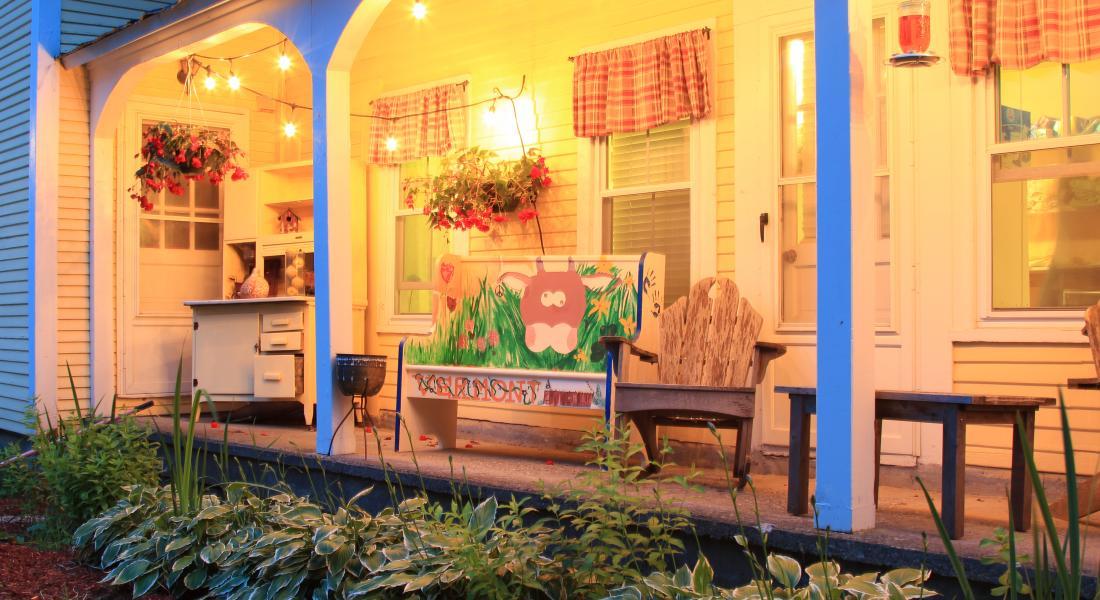 Wilder Farm Inn Waitsfield VT Lodging - Vermont farm table reviews